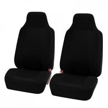 2pcs/set Universal Car Front Seat-Black