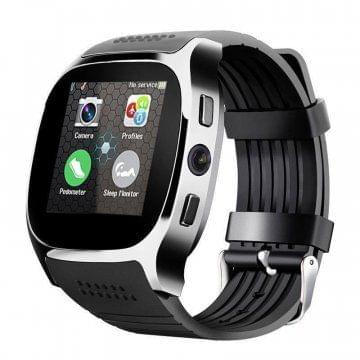 T8 Bluetooth Smart Watch Black