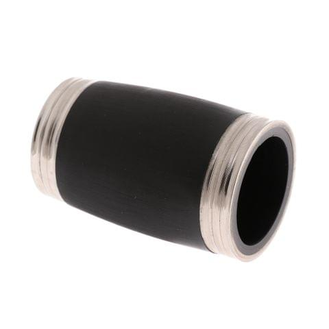 Eassycart Adjustable Clarinet Barrel 50mm Black for Bb Clarinet Replacement Parts