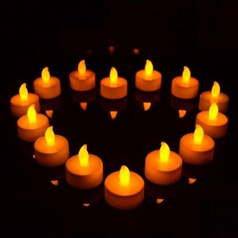 10 PCS Flameless LED Tea Light Electric Candles