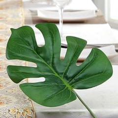 Home Handcrafts Green Artificial Tropical Plant Leaf Fake Palm Leaves Monstera Decoration