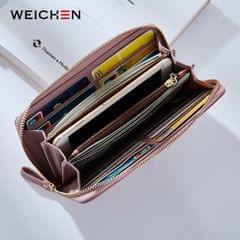 Women Long Clutch Wallet Large Capacity Wallets Female Purse Phone Pocket Card Holder(Green)