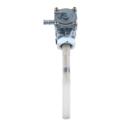 Eassycart Silver Fuel Gas Switch Valve Petcock for Honda VTR250 1997-2008 CB250 Hornet250 1997-2005