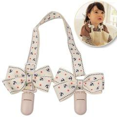 Bowknot Style Baby Bib Clip Stroller Blanket Clip Essential for Outdoor