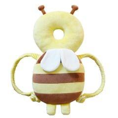 Big Yellow Plush Bee Pattern Shockproof Head Pad for Baby Children Waliking