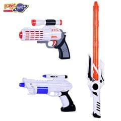 Planet of Toys 009028 Space Weapon with Masks Comboled Lights and Sounds (Set of 2)