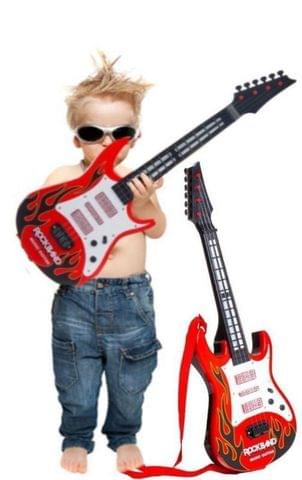 Planet of Toys Light and Sound Rock Music Guitar