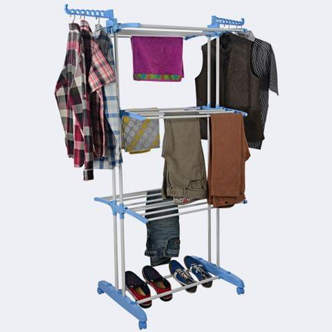 CLOTH DRYING STAND - JUMBO TOWEL STAND (3 Layer)