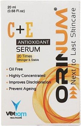 ORINUM Vitamin C+E Antioxidant Serum 20Times Stronger & Stable  (20 ml)