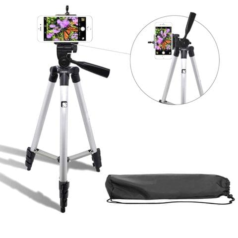 3110 40.2-inch Portable Camera Tripod with 3-dimensional Head and Quick Release Plate