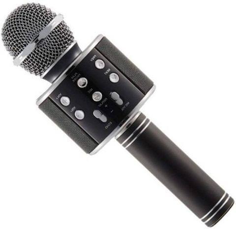 Konarrk Stylish Electronic Wireless WS-858 Handheld Microphone (Black)