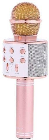 Konarrk Stylish Electronic Wireless WS-858 Handheld Microphone (Pink)
