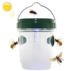 Solar Powered LED Fly Bee Trap Catcher Insect Control Tool