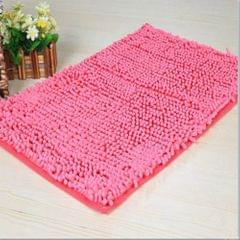 Doormat Anti-slip Floor Water Absorption Rug Bath Mat for Kitchen Bathroom Stairs(Pink)