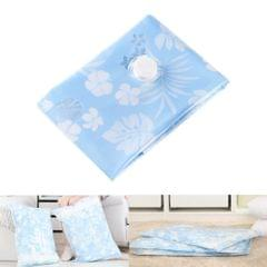 Space Saving Orchids Pattern Vacuum Storage Bag, Thinken Quilts Clothing Vacuum Seal Storage Bag, Size: 80*110 cm