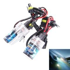 2PCS DC12V 35W H8/H11 2800 LM HID Xenon Light Single Beam Super Vision Waterproof Head Lamp, Color Temperature: 4300K(White Light)