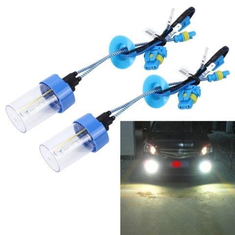2 PCS H7 55W 4300K HID Bulbs Xenon Lights Lamps, AC 12V