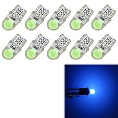 10 PCS T10 W5W DC 12V 1W 60LM Car Clearance Lights LED Marker Lamps with Decoder