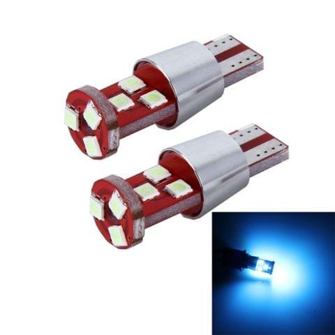 2 PCS T10 2.5W 9 SMD-3030 LED Car Clearance Lights Lamp, DC 12V(Ice Blue Light)