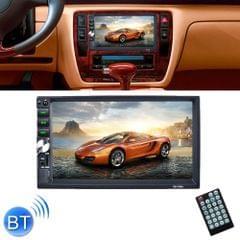 7034 HD 2 Din 7 inch Car Radio Receiver MP5 Player, Support FM & AM & Bluetooth & TF Card