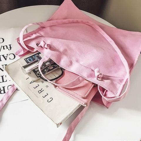 Casual Shoulder Bag Ladies Handbag Bags (Pink)