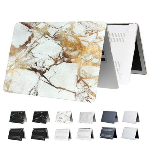 Marble Matte Hard laptop case For Macbook Air 13