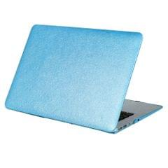 For Macbook Pro 13.3 inch Silk Texture Apple Laptop PC Protective Case(Blue)