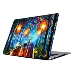 RS-704 Colorful Printing Laptop Plastic Protective Case for MacBook Air 13.3 inch A1466 (2012 - 2017) / A1369 (2010 - 2012)