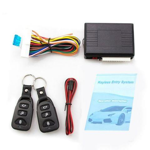 Car Alarm Systems Auto Remote Central Kit Door Lock Keyless Entry System Central Locking with Remote Control