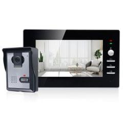 TS-YP710MA 7 inch Screen Smart Video Doorbell Peephole Viewer, Support Visual Intercom & Night Vision & Real-time Monitoring