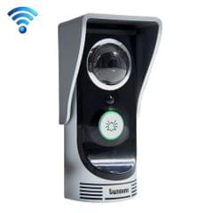 Waterproof WiFi Remote Video Intercom Doorbell with 1/3 inch 1.0MP Camera, Support iOS & Android APP, Waterproof Level: IP55(Silver)