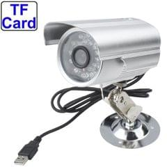 Digital Video Recorder Camera with TF Card Slot, Support Sound Recording / Night Vision / Motion Detection Function, Shooting Distance: 10m(Silver)
