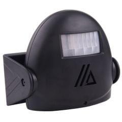 5301 Wireless Infrared Motion Sensor Welcome Alarm Intelligent Greeting Warning Doorbell, IR Distance: 10m (Black)