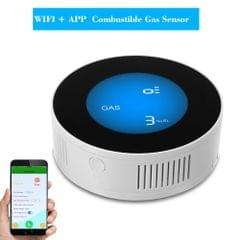 Wireless Gas Detector Alarm Leakage Sensor Natural Gas Leak Detector(WiFi On-site Alarm+APP Control)