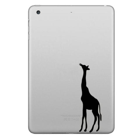 ENKAY Hat-Prince Giraffe Pattern Removable Decorative Skin Sticker for iPad mini / 2 / 3 / 4