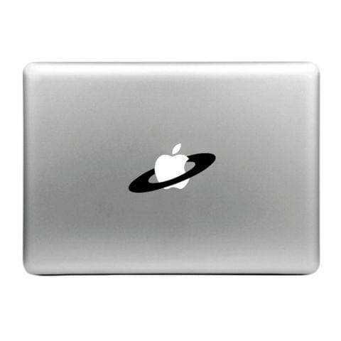 Hat-Prince Apple Ring Pattern Removable Decorative Skin Sticker for MacBook Air / Pro / Pro with Retina Display, Size: S
