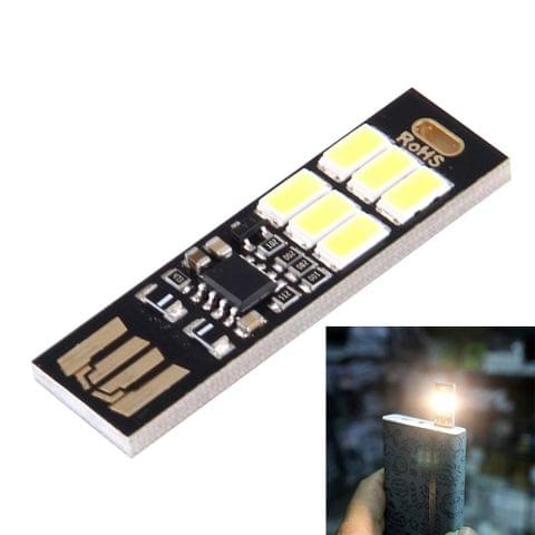 Portable Double Sided USB Touch Light