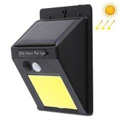 1W Triangle Shape Solar Powered COB LED Wall Light