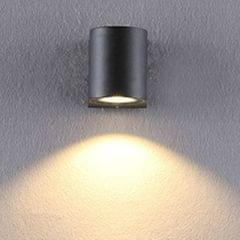 Modern Creativity IP65 Waterproof COB LED Wall Light Hotel Aisle Porch Garden Lighting, Wattage:3W Single Head(White Light)