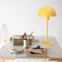 YWXLight Simple Personality Eye-protection Table Lamp Bedroom Bedside Study Desk Light (Yellow)