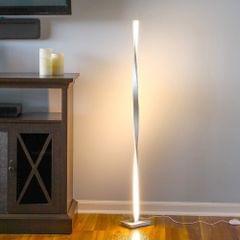 Simple Line Home Floor Lamp Smart Dimming Bedroom Living Room Personality Lighting(Neutral Light)