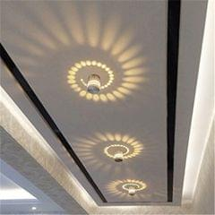 YWXLight Aluminum Indoor Lighting LED Wall Lamp Decorate Lights, AC 110-240V (Warm White)