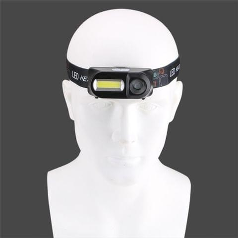 Outdoor camping Portable mini XPE+COB LED Headlamp USB charging Fishing headlights flashlight