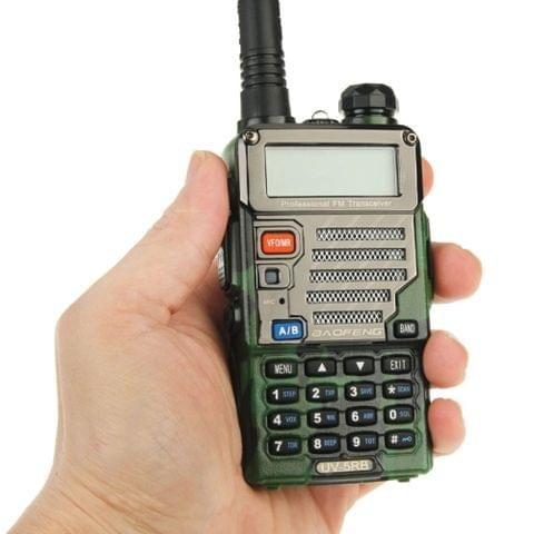 BAOFENG UV-5RB Professional Dual Band Transceiver FM Two Way Radio Walkie Talkie Transmitter