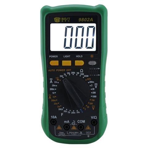 BEST-9802A  Handheld LCD Screen Digital Multimeter
