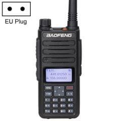 BaoFeng DM-1801 5W(High) 2W(Low) Digital Dual Band Two-Way Radio VHF UHF Handheld Walkie Talkie, EU Plug