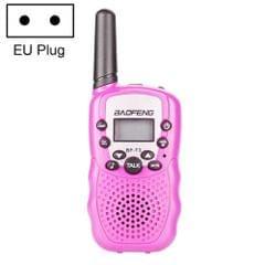 2 PCS BaoFeng BF-T3 1W Children Single Band Radio Handheld Walkie Talkie with Monitor Function, EU Plug