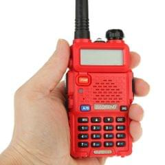 BAOFENG UV-5R Professional Dual Band Transceiver FM Two Way Radio Walkie Talkie Transmitter(Red)