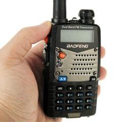 BAOFENG UV-5RA Professional Dual Band Transceiver FM Two Way Radio Walkie Talkie Transmitter(Black)