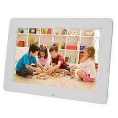 13 inch 1024 x 768 / 16:9 LED Widescreen Suspensibility Digital Photo Frame with Holder & Remote Control, Support SD / MicroSD / MMC / MS / XD / USB Flash Disk(White)
